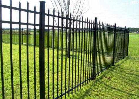 забор из профильной трубы в Тольятти