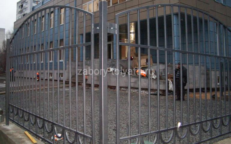 забор из профтрубы в Тольятти